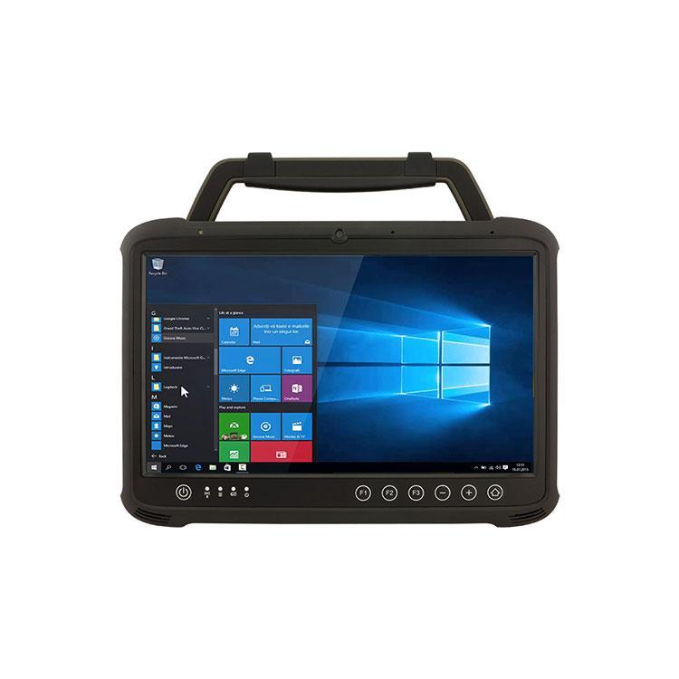 带扫描头13.3寸win10系工业手持加固平板电脑-耐摔防摔工业三防PAD