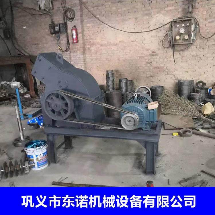 煤矸石锤式破碎机 小型石灰石制砂机 移动式建筑垃圾破碎机