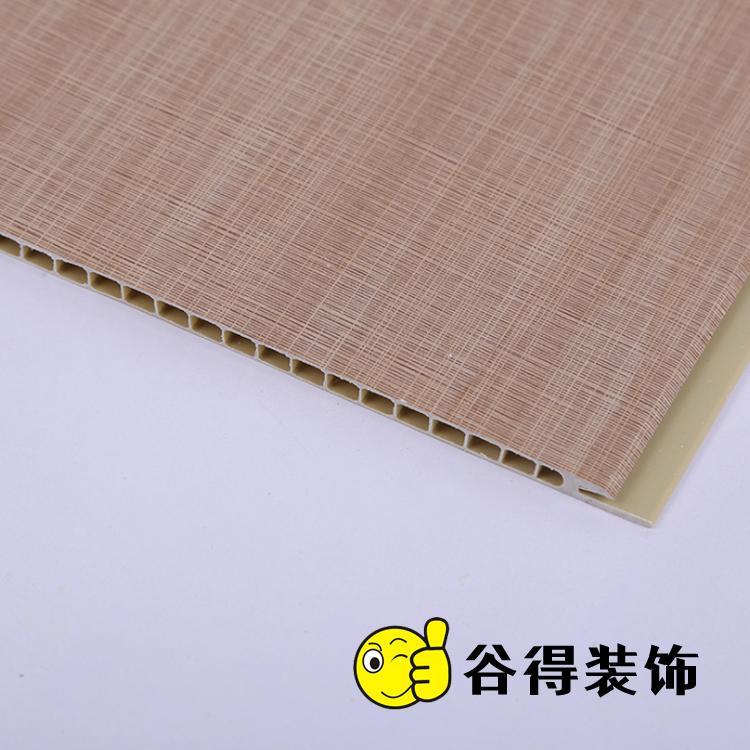30厘米工装石塑墙板 谷得石塑护墙板厂