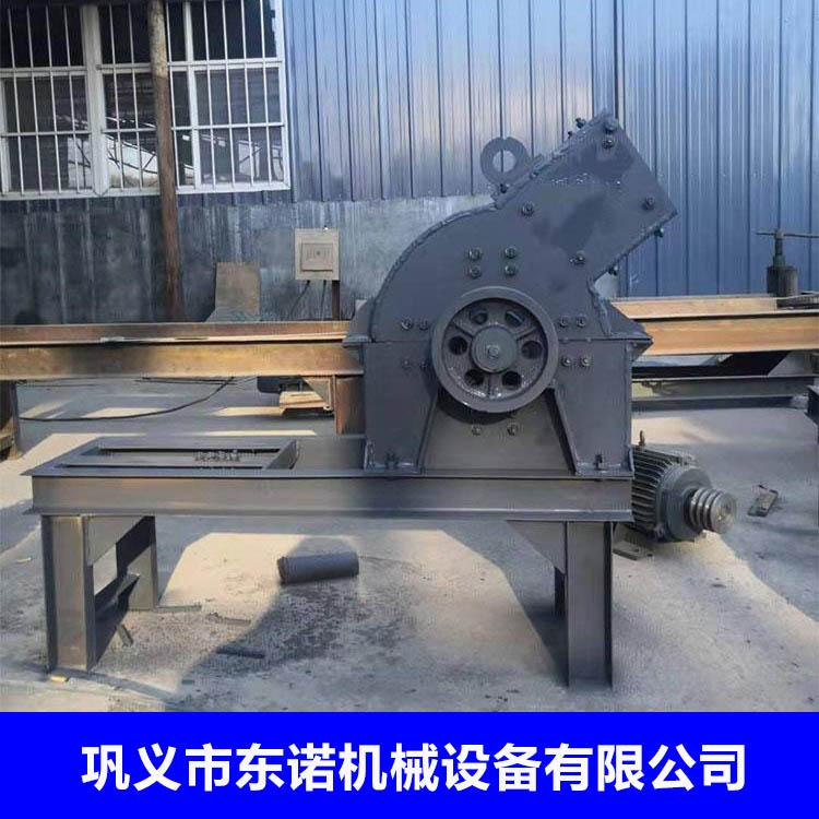 小型锤式破碎打砂机 水泥块制砂机 移动式煤矸石粉碎机