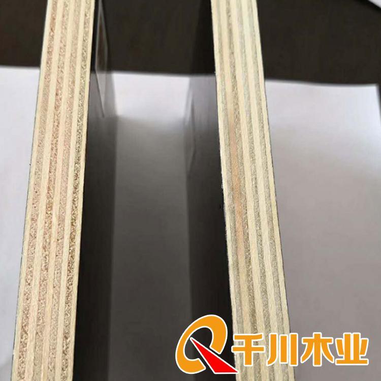 清水建筑模板 千川建筑模板批发价 高档清水覆膜建筑模板