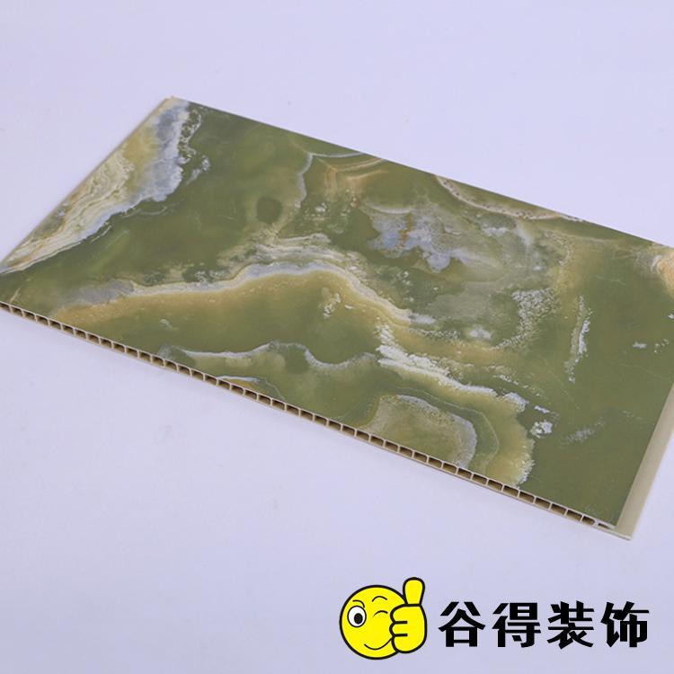 30cm石塑护墙板厂家 谷得石塑集成墙板