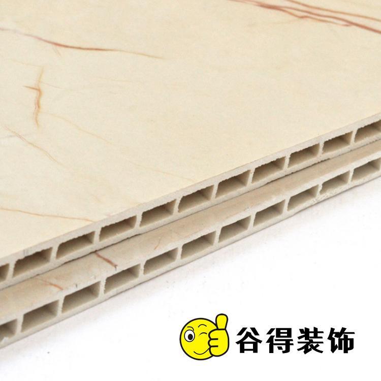 300厘竹木集成墙板 谷得竹木纤维集成墙板装修批发报价