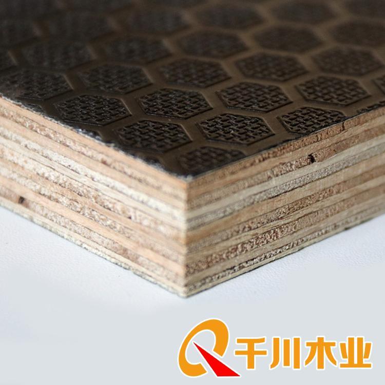 建筑覆膜板 千川建筑工地模板批发 建筑模板厂电话