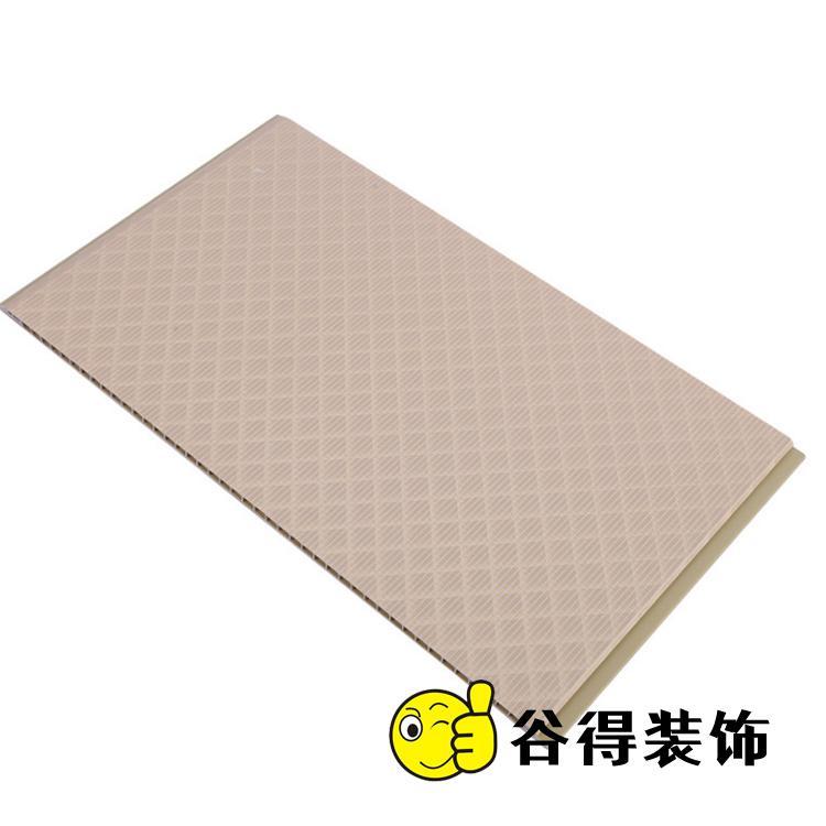 300厘石塑墙板生产厂家 谷得石塑集成墙板