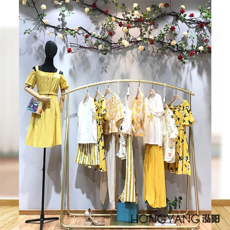 海贝&紫涵2020夏季品牌专柜正品折扣女装批发做女装进货要注意哪些事项