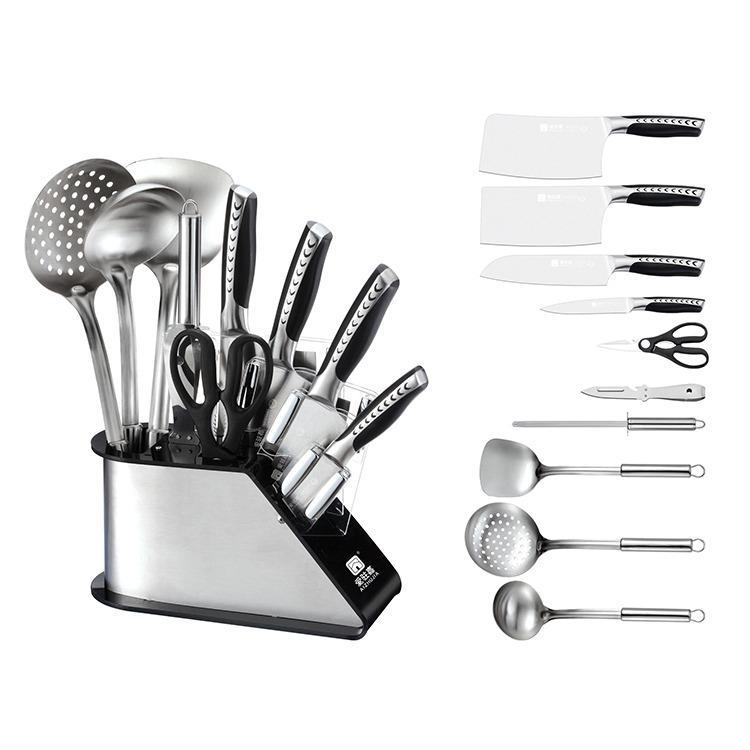 厨房刀具套装 爱驻嘉刀具十件套装批发价格