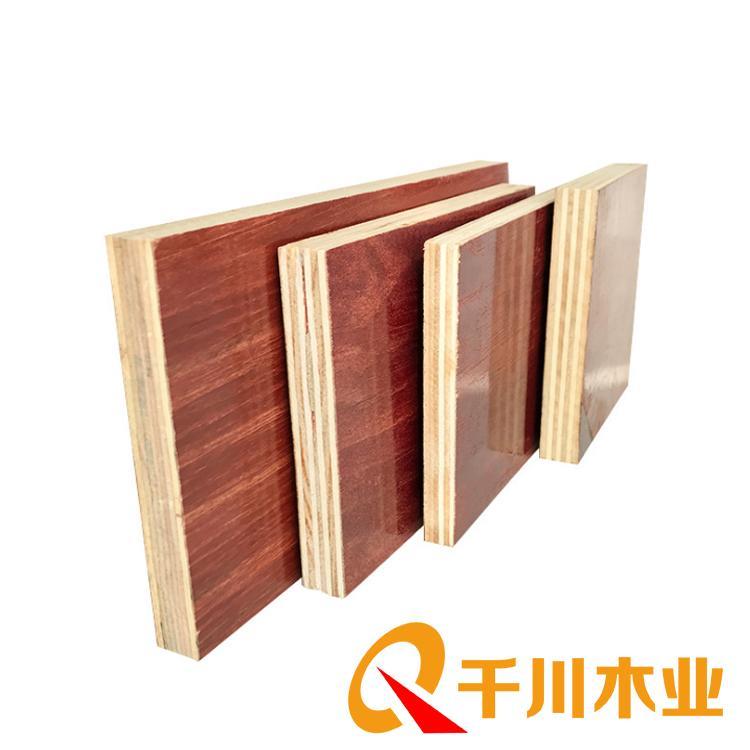建筑清水覆模板 千川建筑模板供应厂家直销 建筑清水模板价格