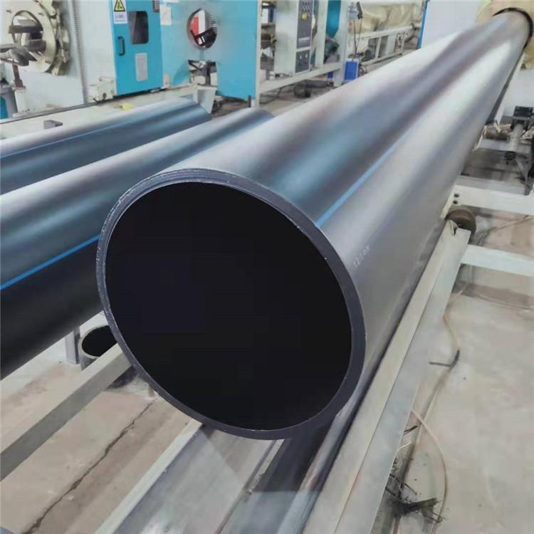 现货销售 HDPE增强缠绕结构壁管 HDPE管品质保障价格合理
