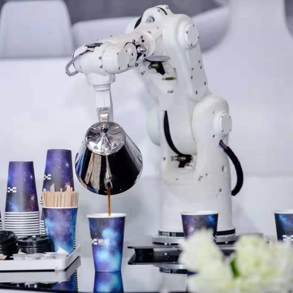 倒酒机器人租赁机械臂出租倒咖啡机器人商演倒水调酒机器人租赁