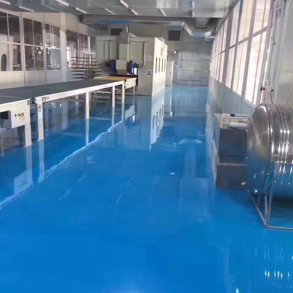 高博 南京环氧地坪改造 环氧地坪漆涂刷