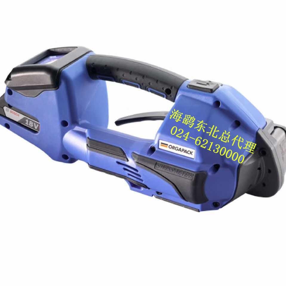 沈阳代理销售ORGAPACK进口电动打包机-OR-T260PET塑钢带手持式捆扎机