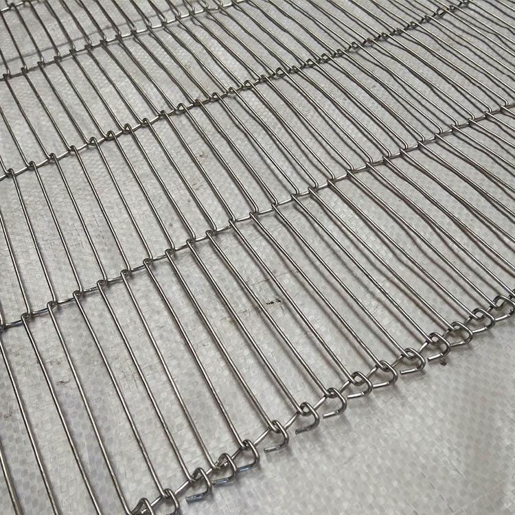 乙字型输送带 不锈钢一字网带 巧克力乙字形输送网带