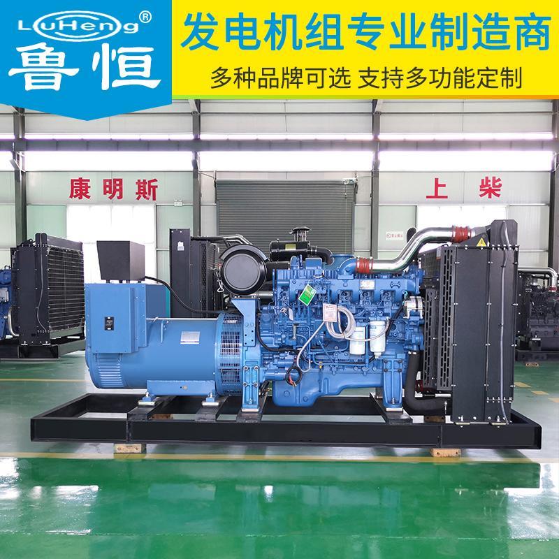 玉柴系列 250kw柴油发电机组 同步交流 玉柴发电机组250kw 鲁恒机械终身维护