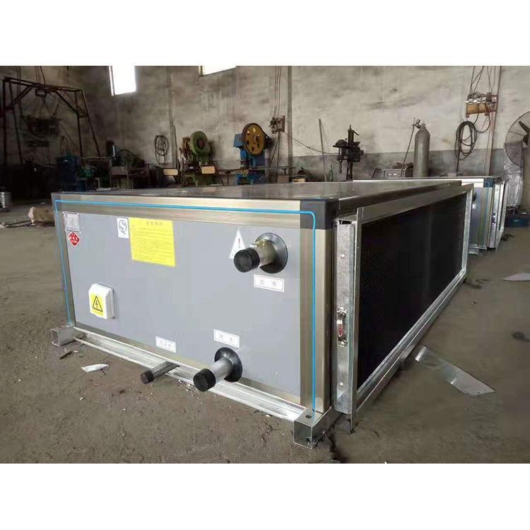 华冉通风制作中央空调末端专用组合式空调机组-吊顶式空调机组ZK-100
