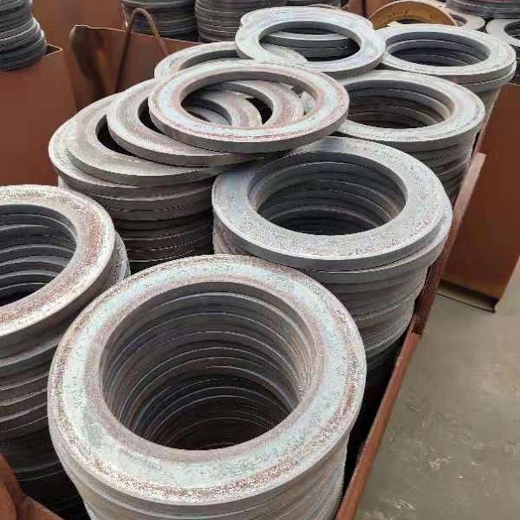 大直径法兰环形锻件 山东勤富 高压对焊法兰锻造件长期生产