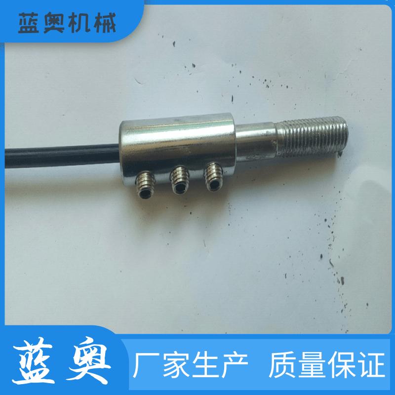 宁津蓝奥厂家 优质铝合金开口销 六角锁线头 定制 质量保证