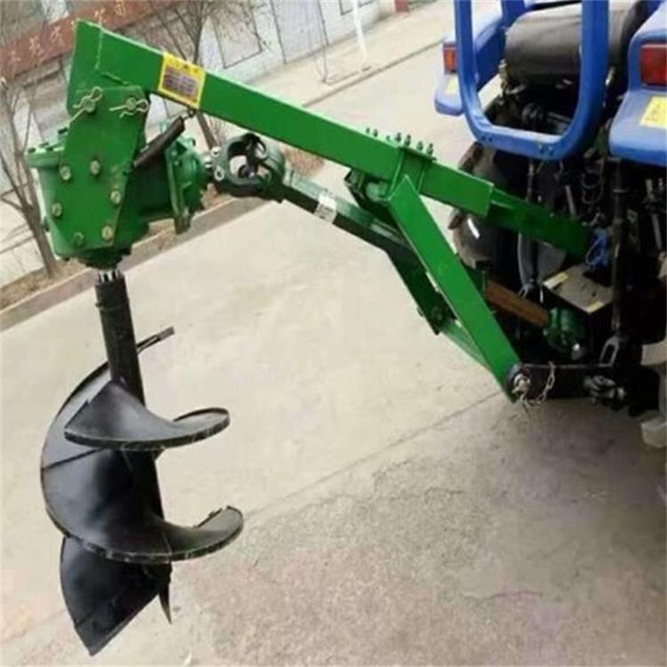 金齐鲁 30-70型 大型植树挖坑机 电线杆加深钻坑机 埋桩立柱挖坑机