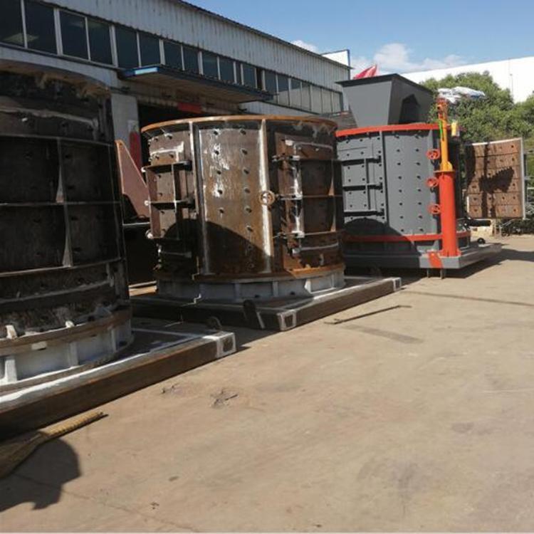 钢渣机制砂机时产100吨 移动河卵石破碎制沙设备 鸿宇移动式制砂机生产线