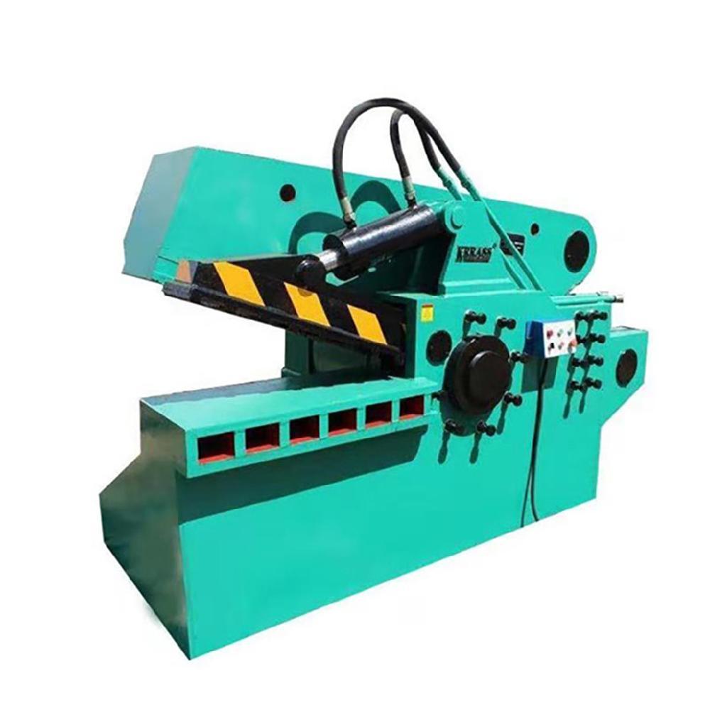 新式全自动卧式液压剪铁机鳄鱼剪废铁废钢金属剪切机 重型鳄鱼剪切机