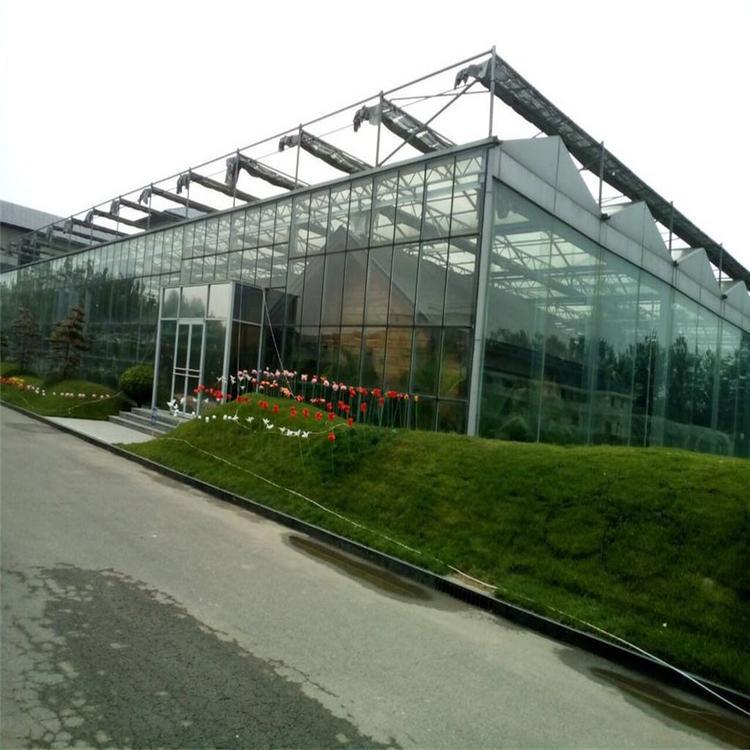 轻钢大棚 生态酒店连铸温室 连体轻钢大棚 云凌