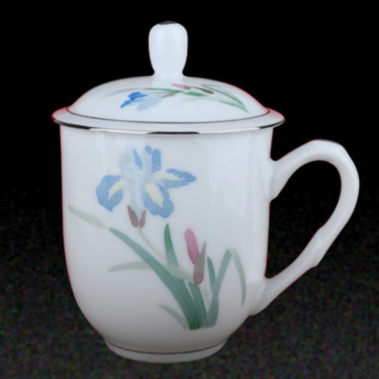 手繪釉下彩禮品陶瓷會議紀念杯歡迎洽談按需定制銷售精品熱門推薦廠家批發