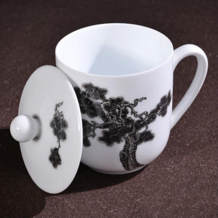 醴陵釉下彩手绘陶瓷会议纪念礼品营销新品厂家批量销售品质服务欢迎来电优质服务