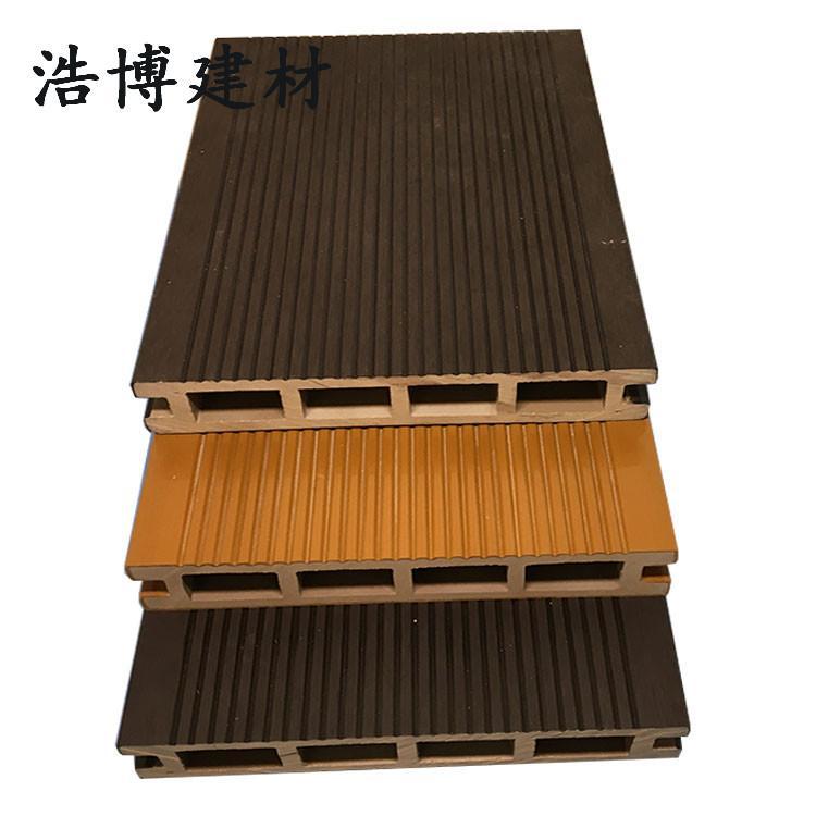 强化户外木塑地板 生态木地板 室外景观工程专用