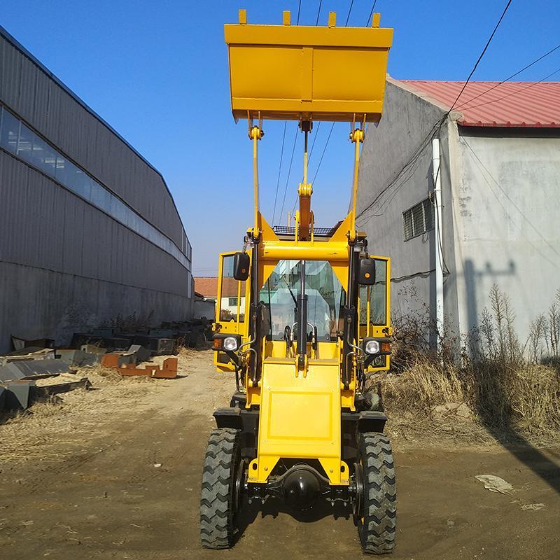 小型装载机铲车叉木机 鲁荣装载机 厂家供应多功能工程车