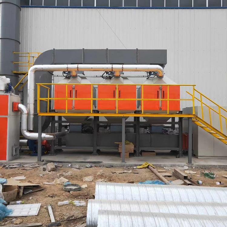 大型催化燃烧设备 嘉达 厂家支持定制 不锈钢烟气处理设备