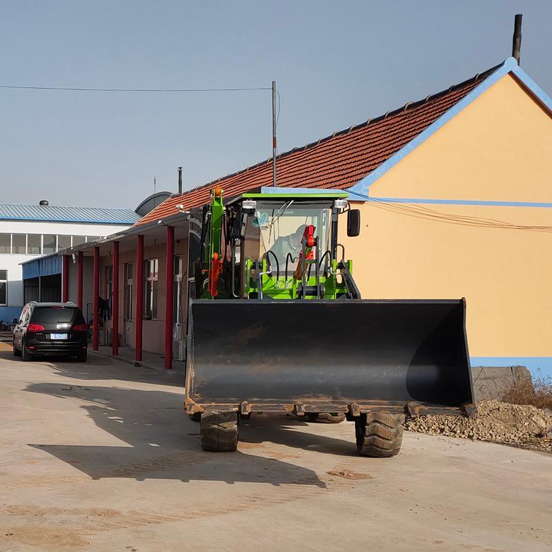 多功能挖掘装载机小型轮式两头忙工程用铲车农用装卸机两用挖装机