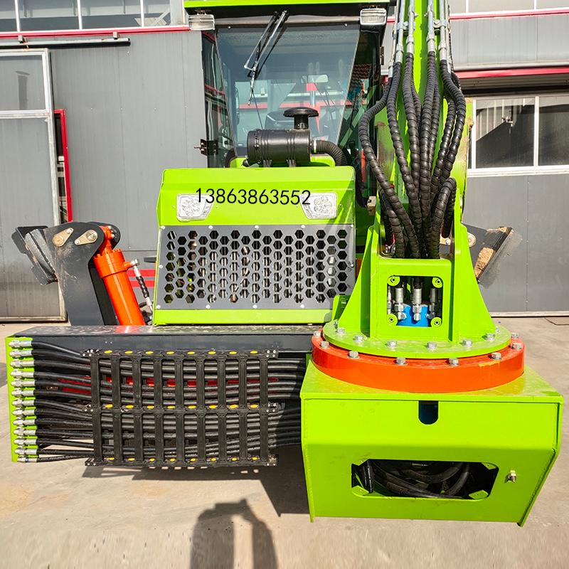 铲车装载机两头忙挖掘装载机多功能全新小型可加抓木钻头