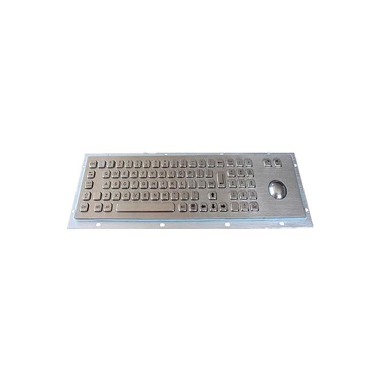 工业键盘-带数字防水金属鼠标一体工业级键盘