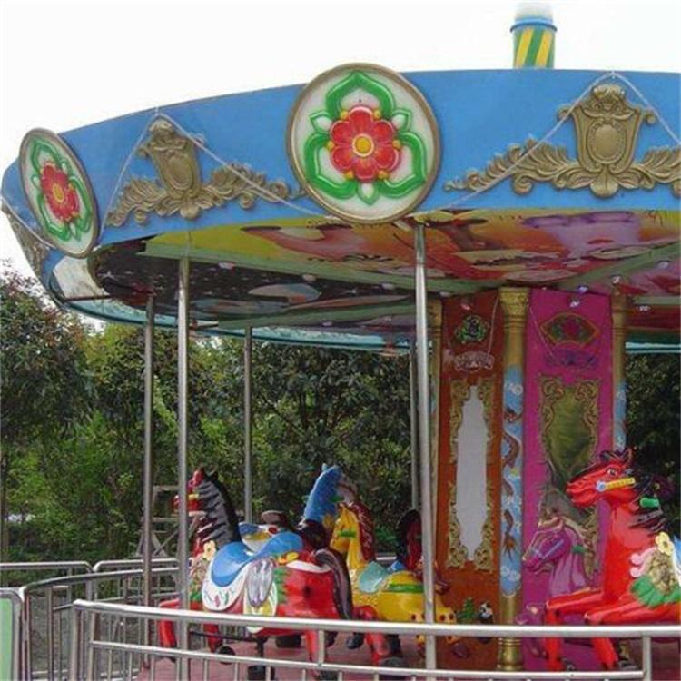 益瑞游乐设备公园豪华转马户外大型旋转木马