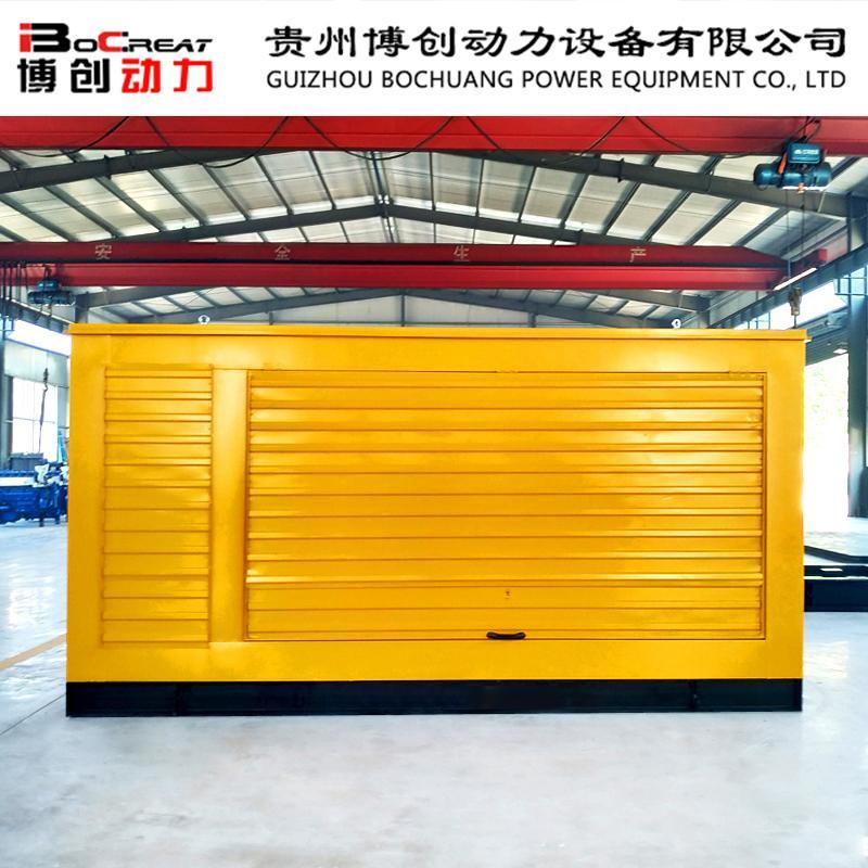 400千瓦防雨型柴油发电机组参数规格 潍柴50hz柴油发电机组 大型室外专用 配置定制