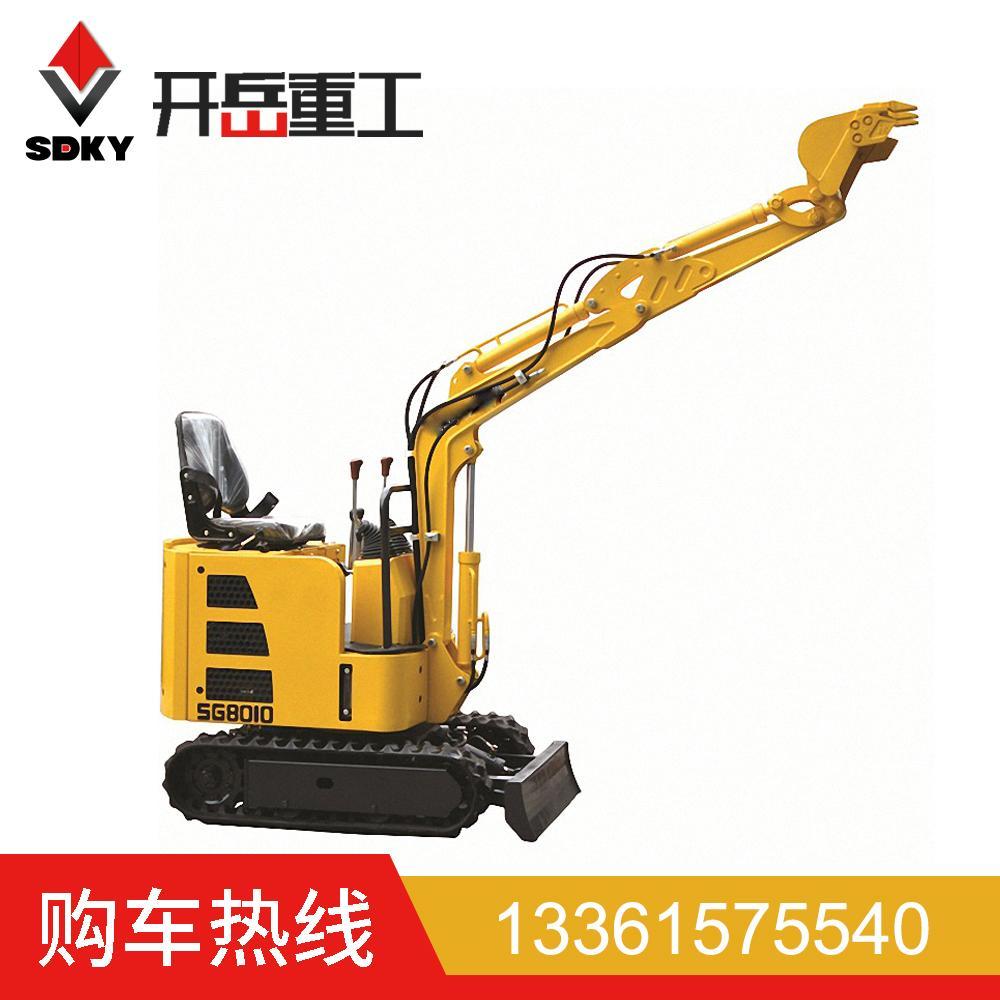 小型挖掘机 伸缩式履带市政小型挖掘机 农田挖沟用8010小型挖机