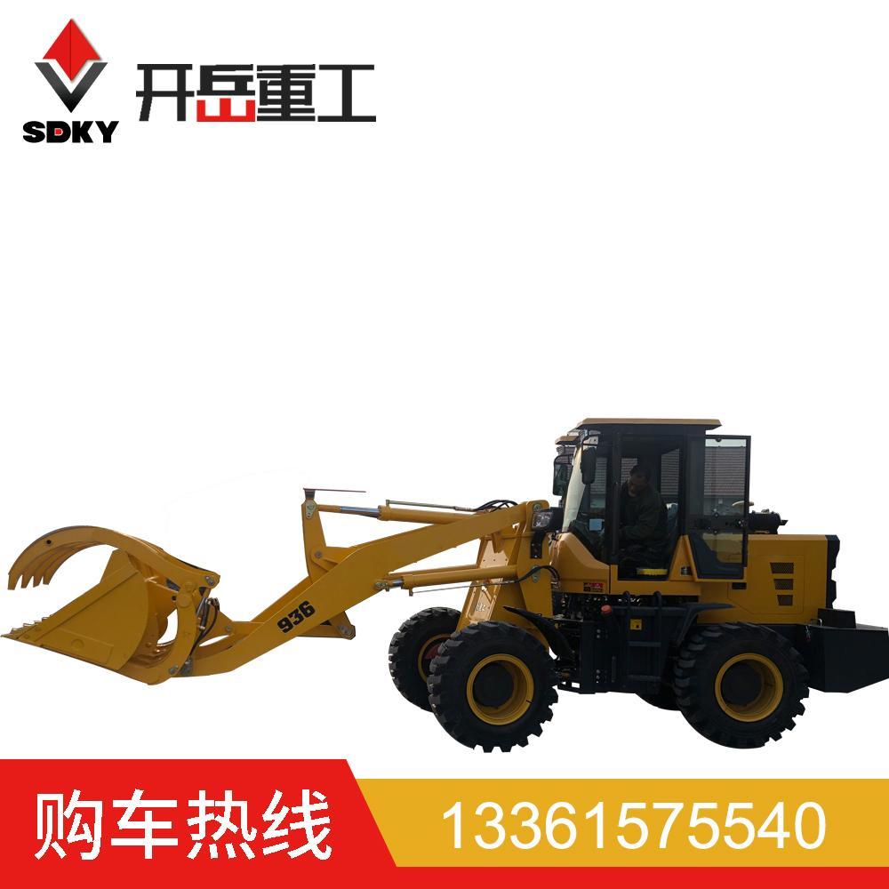 小型装载机 外贸货源厂家全国配送潍柴4102增压铲草料小型装载机