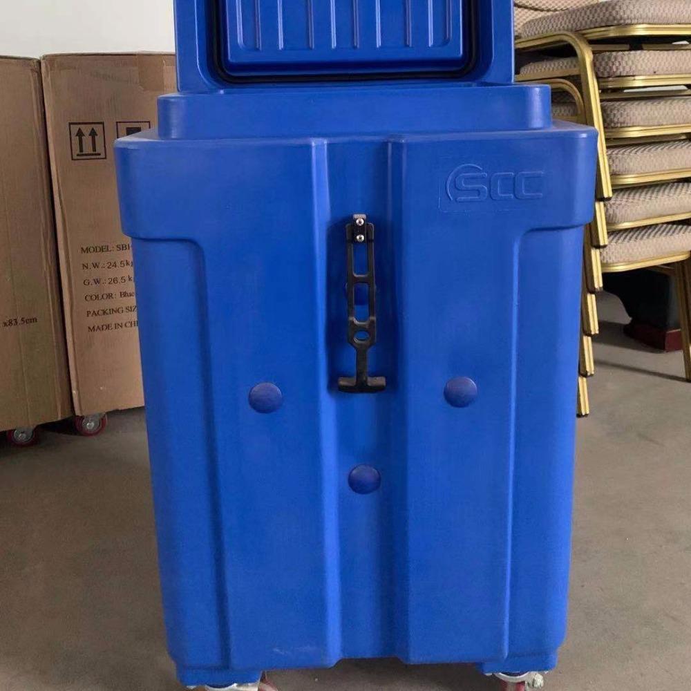 海鲜冻肉配送冷链箱 保温冷藏干冰箱