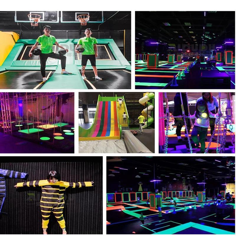 广州游乐设备儿童大型组合蹦蹦床幼儿园室内超级跳床公园
