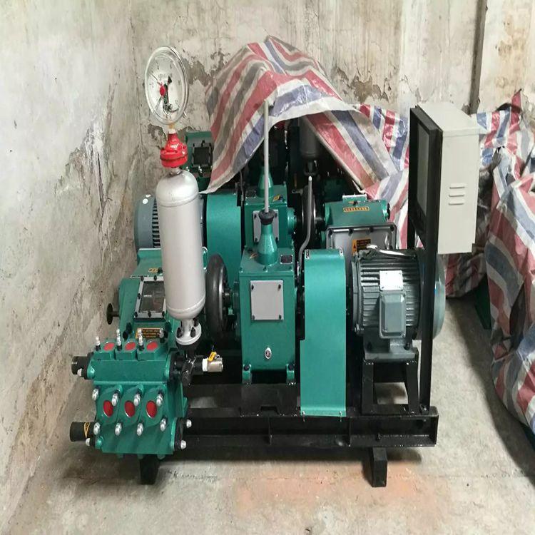 BW150三缸流量大泥浆泵 广西钦州 BW250电动泥浆泵