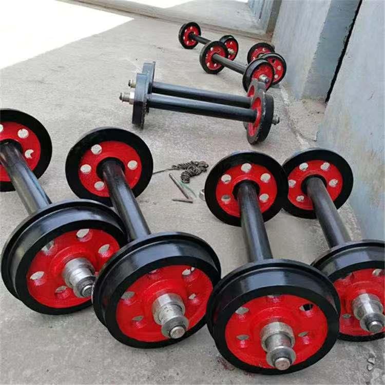 矿联厂家直销重型轨道车轮 重型矿车轮对 重型轨道轮
