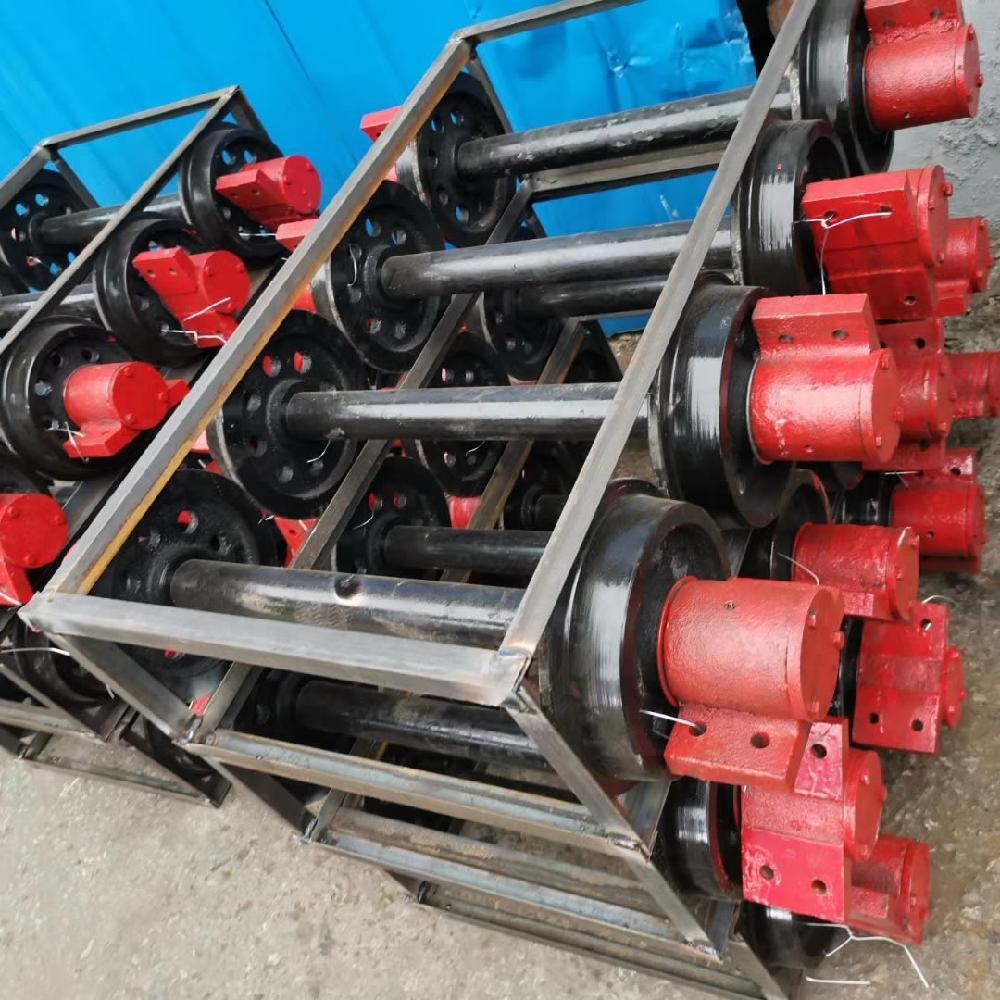 矿联重型矿车轮对 重型轨道轮 350矿车轮对