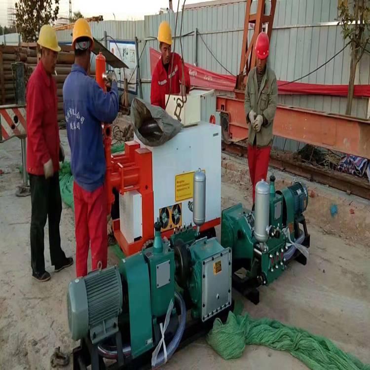 双缸双液液压注浆泵操作 湖北恩施 液压双液注浆泵双液注浆机