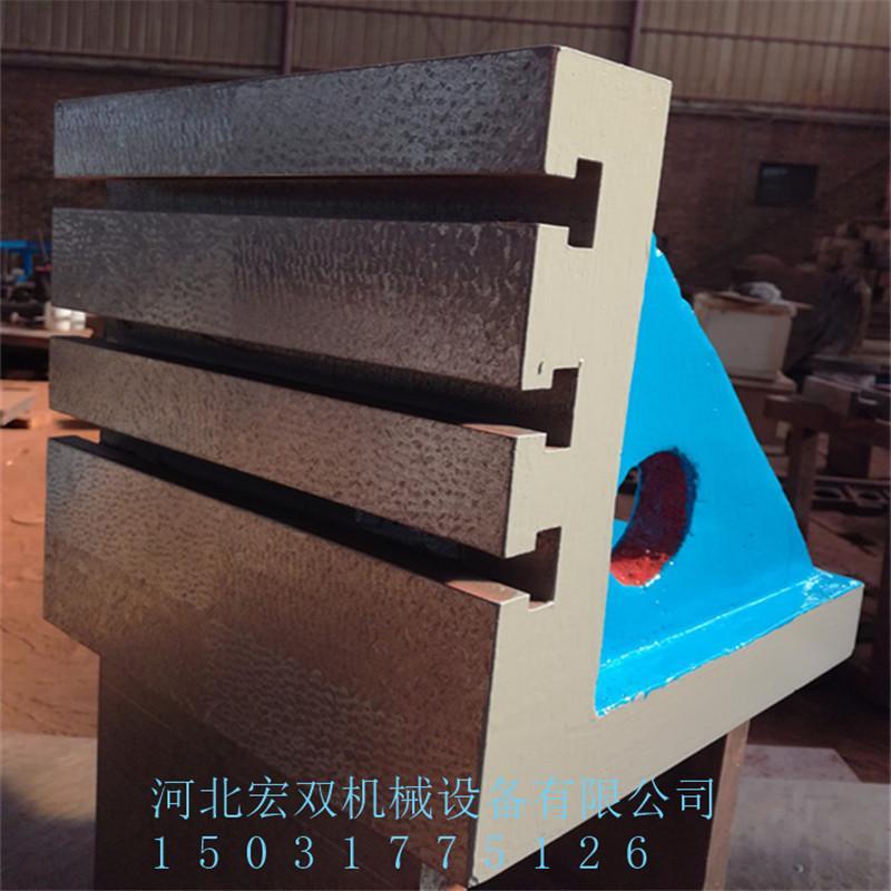 宏双厂家现货供应铸铁方箱工作台T型槽方箱检验方箱测量方箱质优价廉
