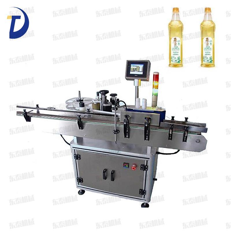 现货批发东泰DT-02S圆瓶贴标机 液酒精瓶不干胶标签贴标机