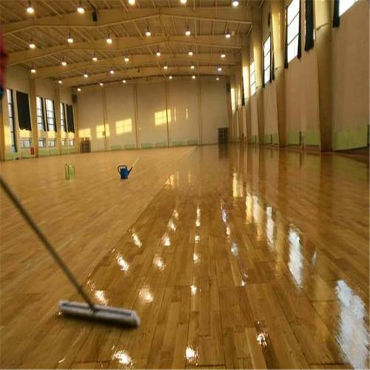 尚浩体育供应 室内体育馆木地板 羽毛球馆木地板 质量好价格优