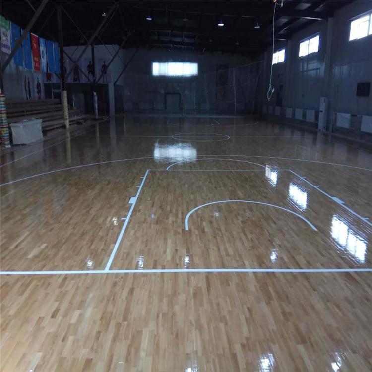 体育运动木地板 篮球馆运动木地板 尚浩体育拥有良好的售后服务和优质的解决方案