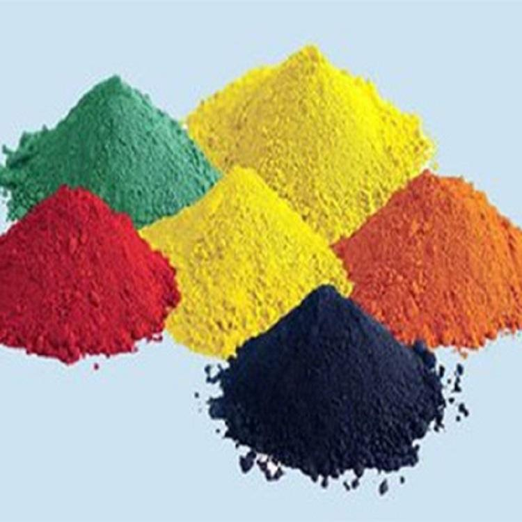 贵州色粉氧化铁红氧化铁黄建材用色粉金摩尔贵州颜料批发