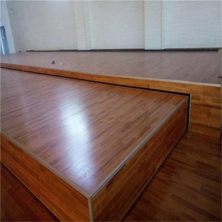 舞台木地板 舞蹈室木地板厂家 尚浩体育多年行业经验 种类齐全