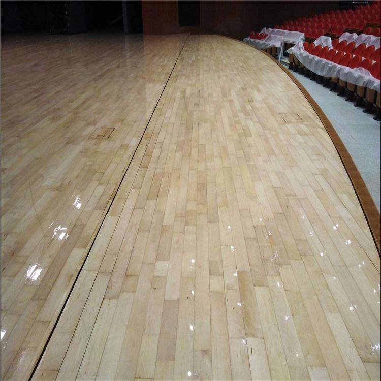 尚浩体育 羽毛球馆木地板 羽毛球馆体育木地板 寿命长 质量好